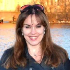 Kelly McGuire, owner of Kestrel Text & Translation